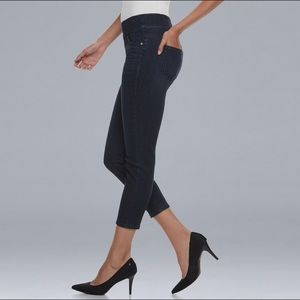 Vera Wang Capri jeggings denim jeans size 4